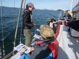 April 2017 marine science on deck